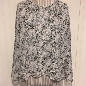 Paper Crane long sleeve blouse small